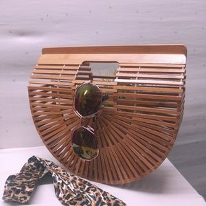 Gorgeous Wooden Purse